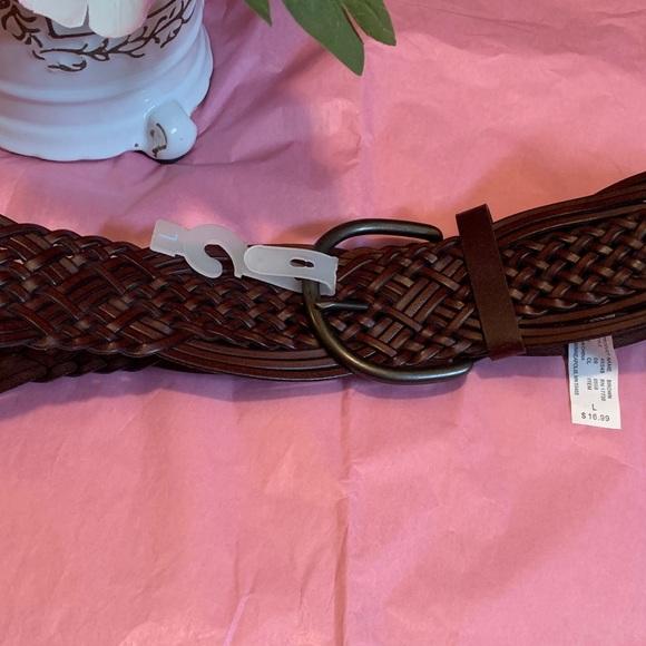 Target Accessories - Large NWOT Brown Belt with Dark Metal Buckle